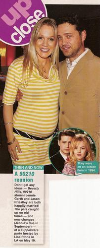 Jason Priestley and Jennie Garth