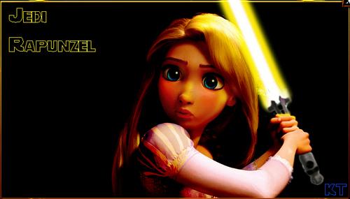 Jedi Rapunzel