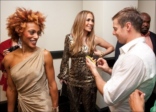 Jennifer Backstage @ SINATRA: Dance With Me in Vegas