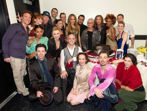 Jennifer Backstage @ SINATRA: Dance With Me in Vegas