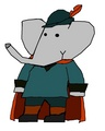 Julian - babar-the-elephant fan art