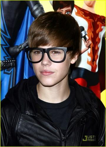 Justin ay Megamind premiere