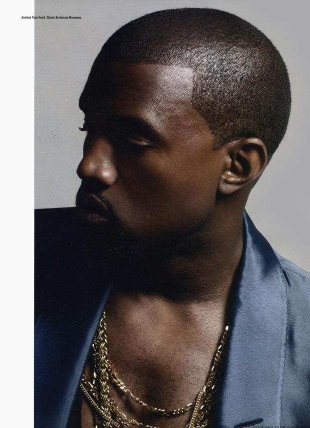 Kanye West i-D Magazine Photoshoot