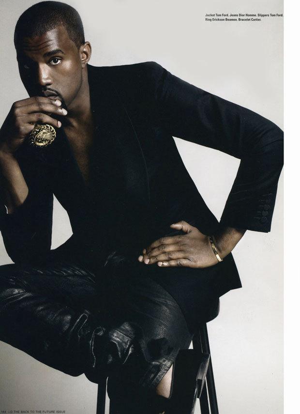 Kanye West I D Magazine Photoshoot Kanye West Photo