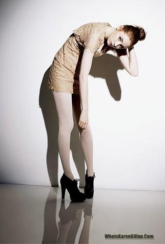 Matt Smith & Karen Gillan wallpaper with tights entitled Karen (Paul Farrell photoshoot)