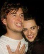 Katie and current boyfriend Samuel