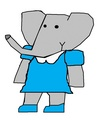Kayte - Andrew and Mina's Youngest Daughter - babar-the-elephant fan art