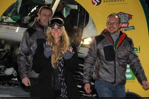 Кеша @ Ski Opening at Planai Arena in Schladming, Austria 12/4/10