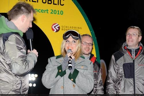 Ke$ha @ Ski Opening at Planai Arena in Schladming, Austria 12/4/10