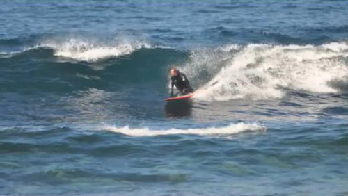 Keith Surfing in North Donegal