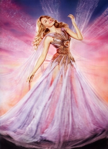 Kylie as fairy