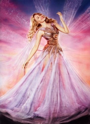 Kylie as fairy