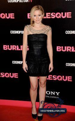 Kristen @ Burlesque Madrid Premiere