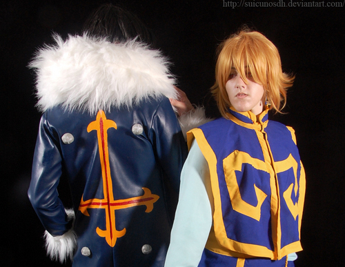 Kuroro and Kurapika cosplay