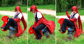 Kuroshitsugi // Black Butler - Grell + Sebastian Cosplay - lolly4me2 fan art
