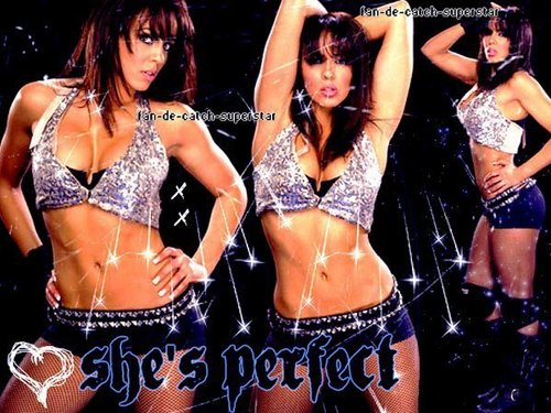 WWE LAYLA wallpaper with a bikini called Lay-la El