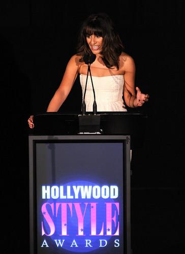 Lea @ the 2010 Hollywood Style Awards