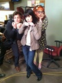 MGG, Paget & Kirsten - matthew-gray-gubler photo