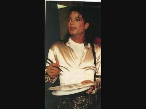 MJ rare And cute picha