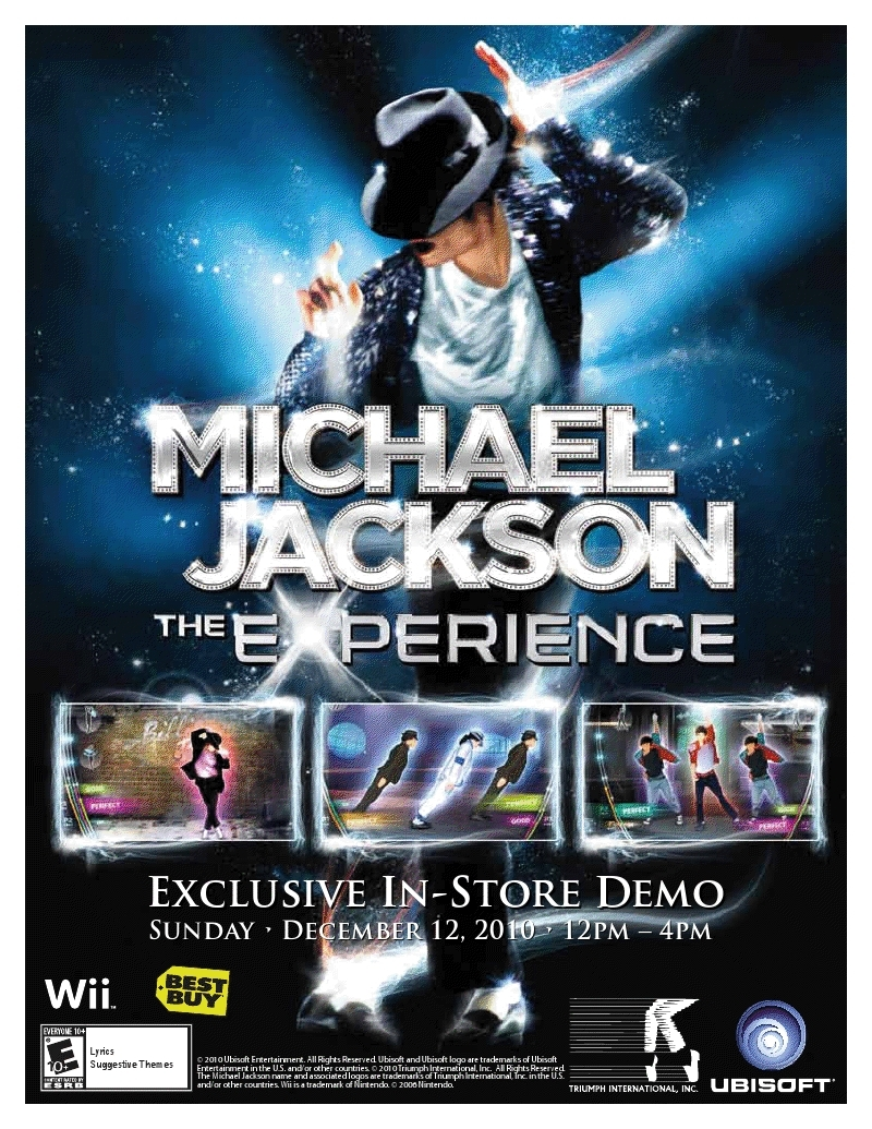 MJTE US Demo Events – 12/12/2010!