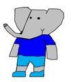 Matthew - Andrew and Mina's Youngest Son - babar-the-elephant fan art