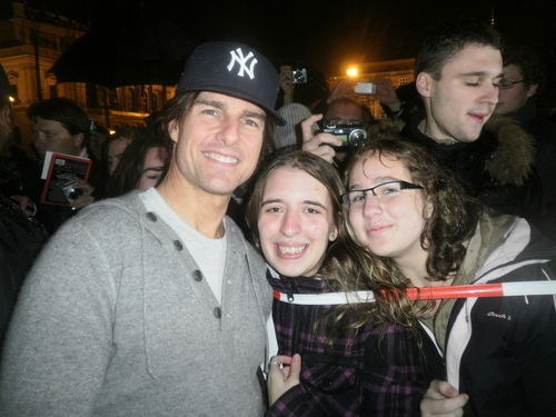 Me and Tom Cruise (October 16) in Prague