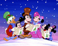 Mickey &amp; Friends - classic-christmas-cartoons photo