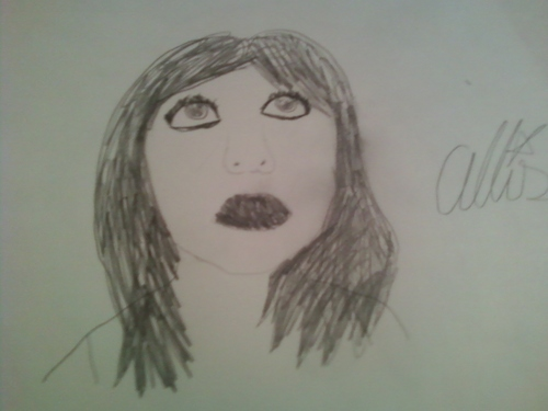 My Allison fanart (Brunette)