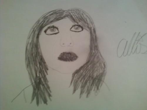 My Allison fanart (Brunette)