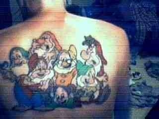 My seven Dwarves tattoo