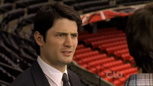 Nathan Scott 8.08 Mouthful of diamonds!
