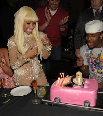 Nicki - Dec 6 Birthday Celebration At TAO in Las Vegas