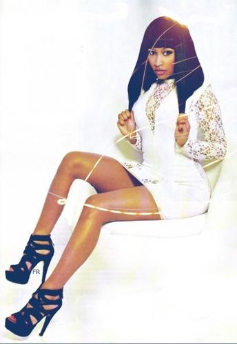 Nicki Minaj پیپر وال titled Nicki - XXL Magazine (January 2011)