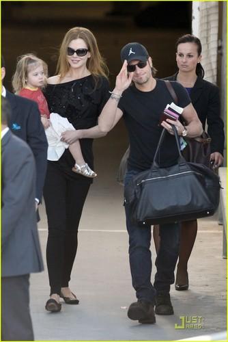 Nicole Kidman & Keith Urban Take Sunday to Sydney