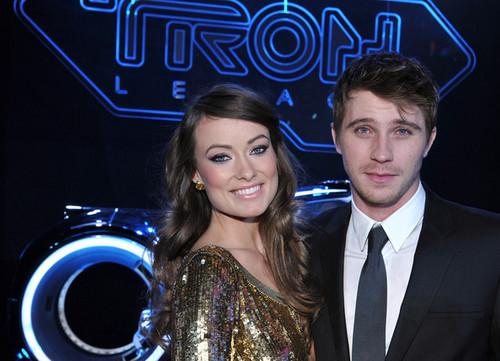 Olivia Wilde & Garrett Hedlund @ the LA Premiere of 'Tron: Legacy'