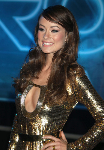 Olivia Wilde @ the LA Premiere of 'Tron: Legacy'
