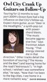 Owl City Article - Rolling Stone Australia Magazine - Scan - owl-city photo