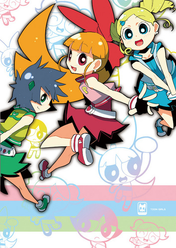 powerpuff girls Z wallpaper possibly containing anime titled PPGZ Fan Art