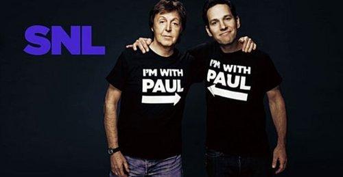 Pauls McCartney and Rudd