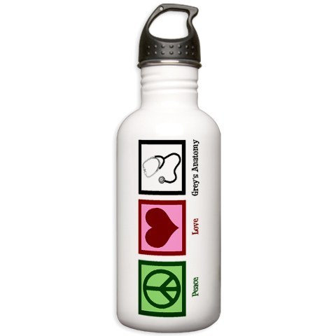 Peace upendo Grey's Bottle
