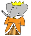 Crown Princess Periwinkle - babar-the-elephant fan art