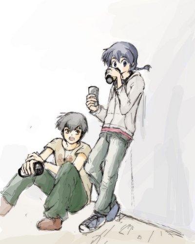 Ranma and Ryoga