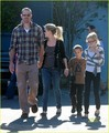 Reese Witherspoon: Church with Ava, Deacon and Jim Toth! - reese-witherspoon photo