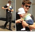 Robin & His Son - robin-thicke photo