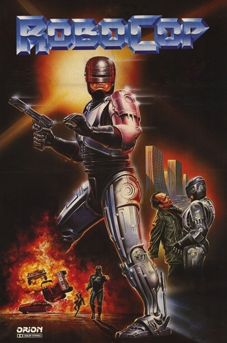 Robocop kertas dinding containing Anime entitled RoboCop Alternate Poster