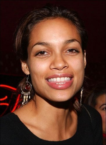 Rosario Dawson wallpaper containing a portrait entitled Rosario @ Self Magazine Party
