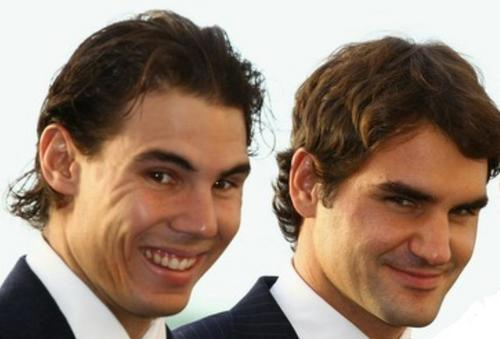 SEXY COUPLE: RAFA AND ROGER