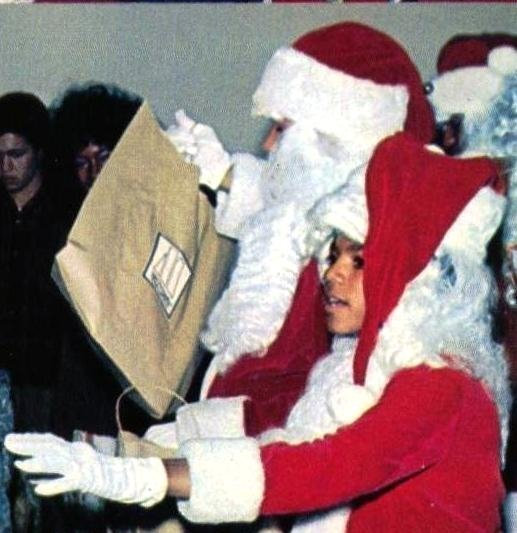 SWEET MJ!!!!♥♥ Merry Christmas!!