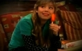 Sam eating a popsickle - samantha-puckett photo