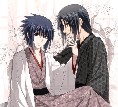 Yaoi wallpaper called Sasuke and Itachi